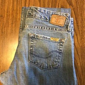 Levi Signature Jeans.  Boot cut. Sz 3 Junior